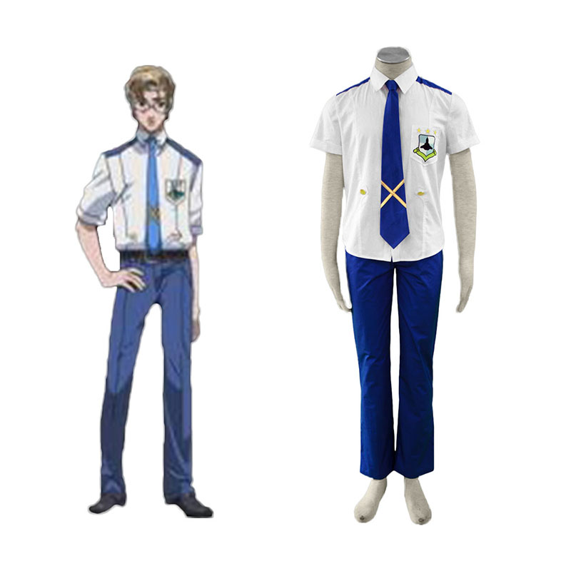 Macross F Mikhail Blanc 1 Cosplay Costumes Canada