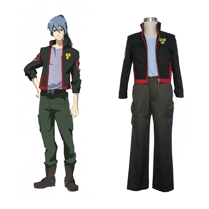 Macross F Ozma Lee 1 SMS Team Cosplay Costumes Canada