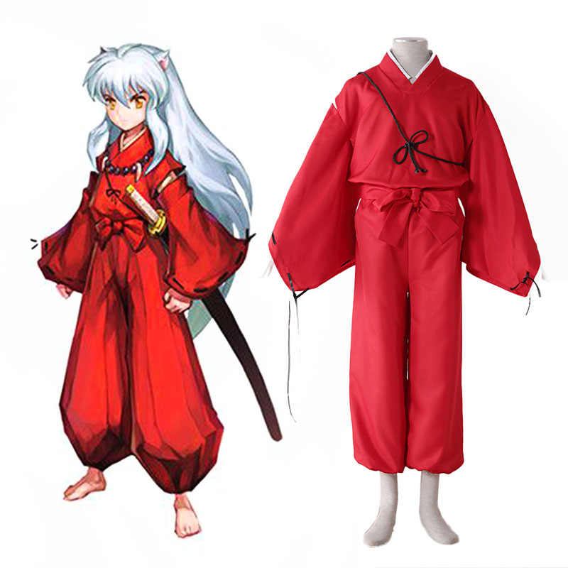 Inuyasha 2 Red Cosplay Costumes Canada