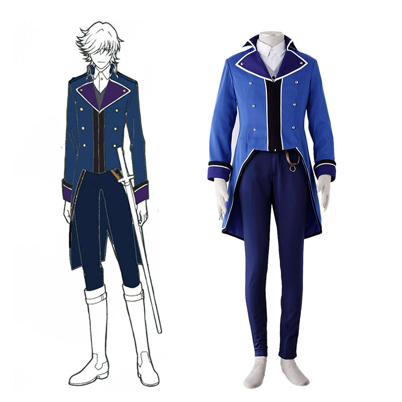 K Blue Organization Uniforms Cosplay Costumes Canada