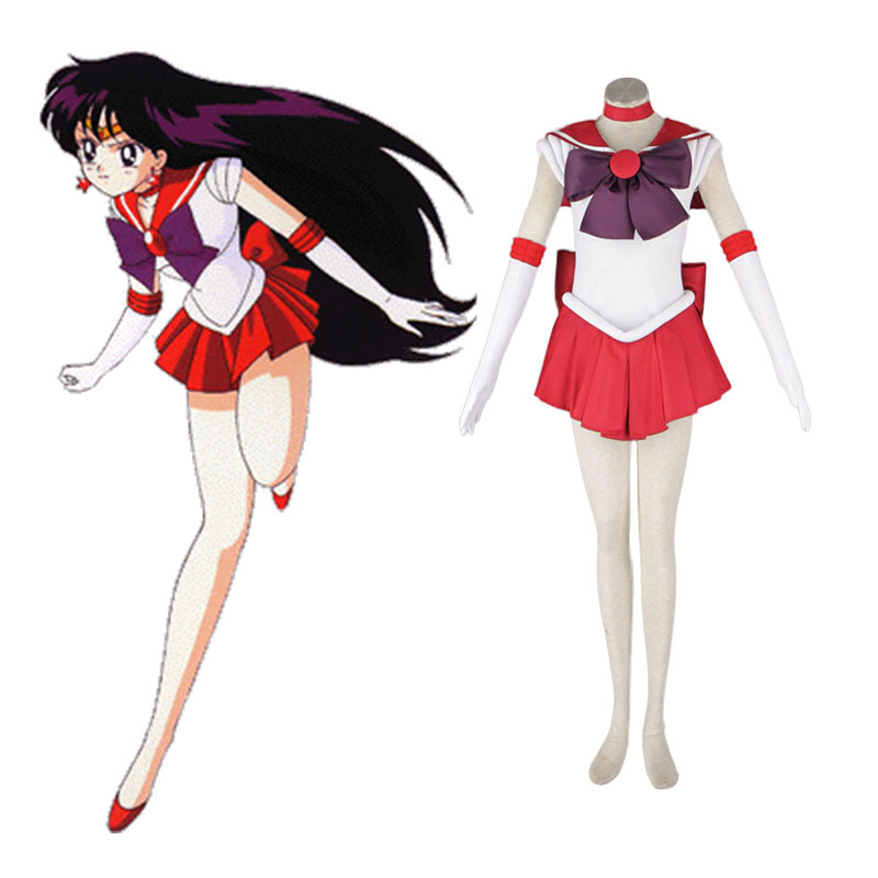 Sailor Moon Hino Rei 1 Cosplay Costumes Canada