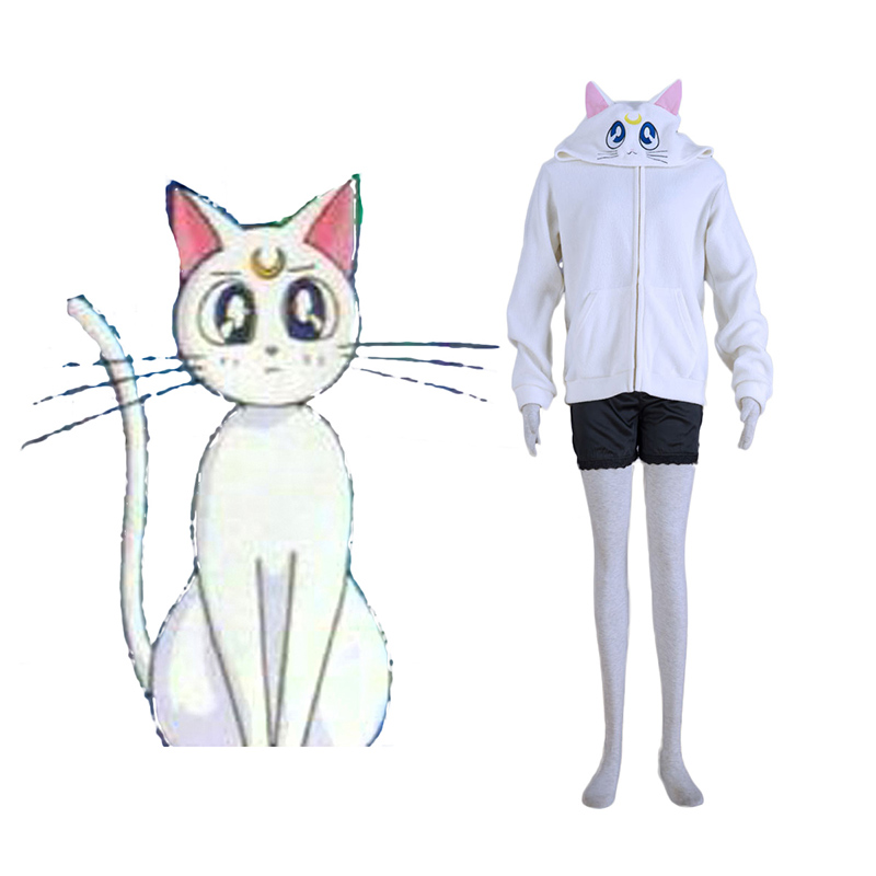 Sailor Moon White Cat Artemis Cosplay Costumes Canada