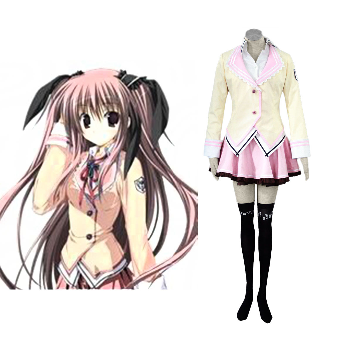 Supreme Candy School Female Uniformes Cosplay Costumes Canada