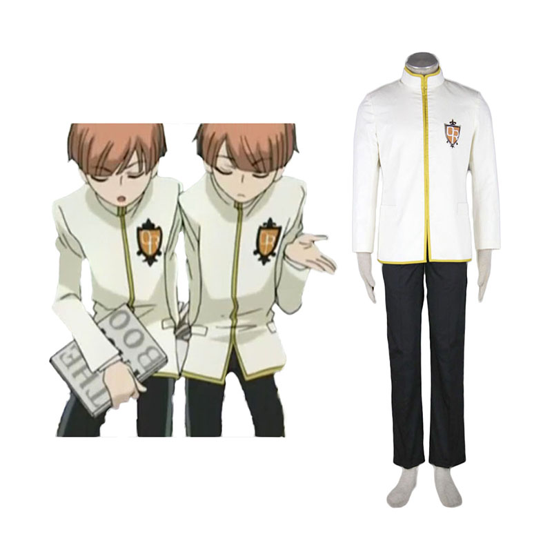 Ouran High School Host Club Male Uniforms Yellow Cosplay Costumes Canada
