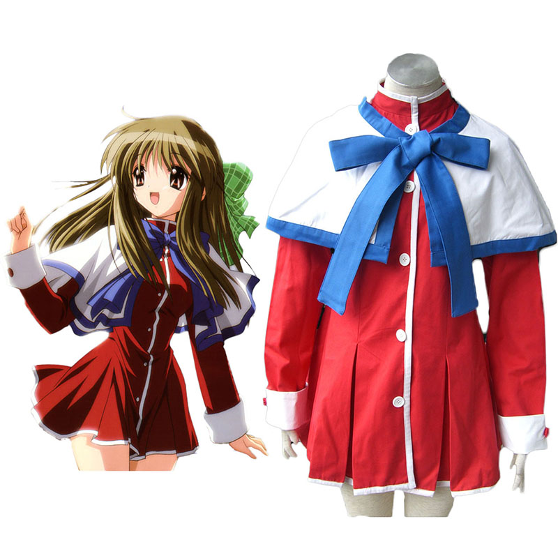 Kanon High School Uniforms Blue Ribbon Cosplay Costumes Canada