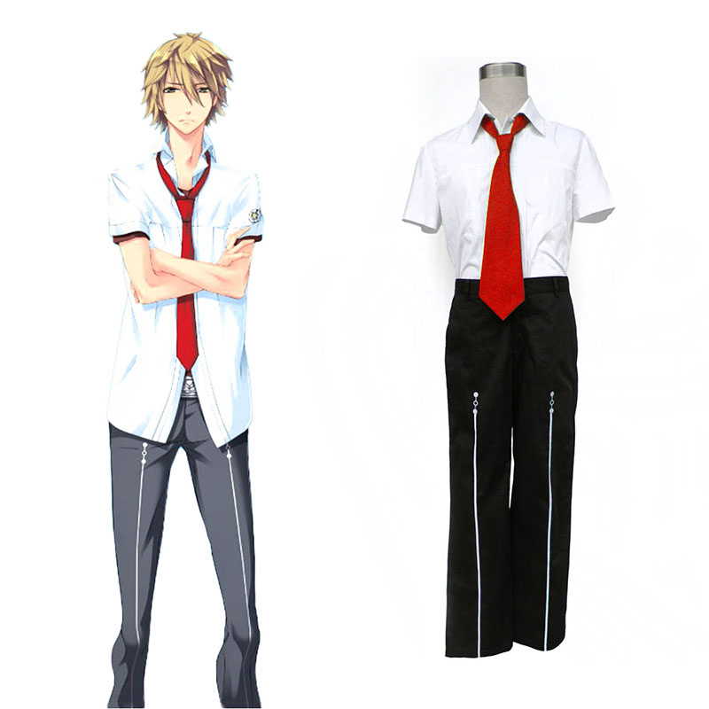 Starry Sky Male Summer School Uniform 1 Cosplay Costumes Canada