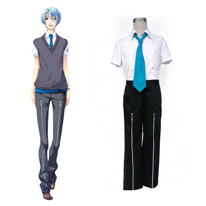 Starry Sky Male Summer School Uniform 3 Cosplay Costumes Canada