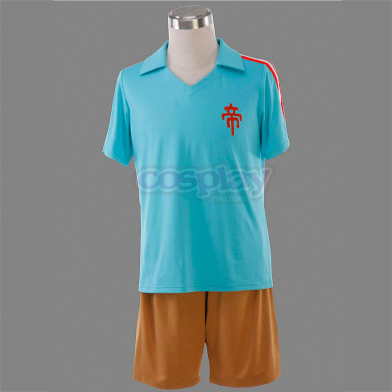 Inazuma Eleven Teikoku Summer Soccer Jersey 1 Cosplay Costumes Canada