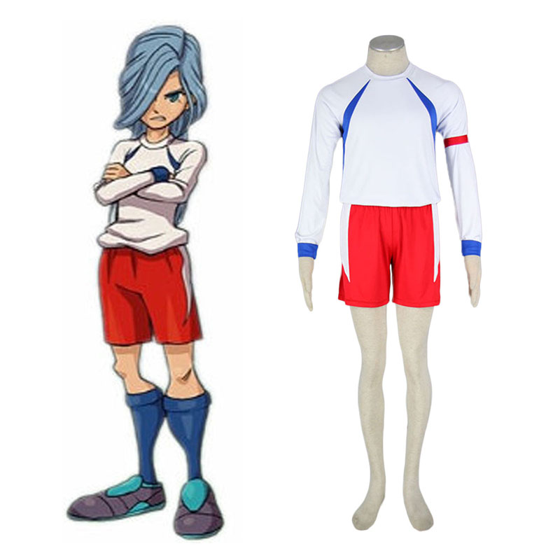 Inazuma Eleven British Team Soccer Jersey 2 Cosplay Costumes Canada