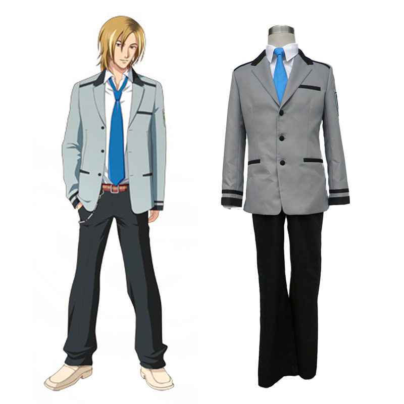 Tokimeki Memorial Girl's Side Male School Uniform Cosplay Costumes Canada
