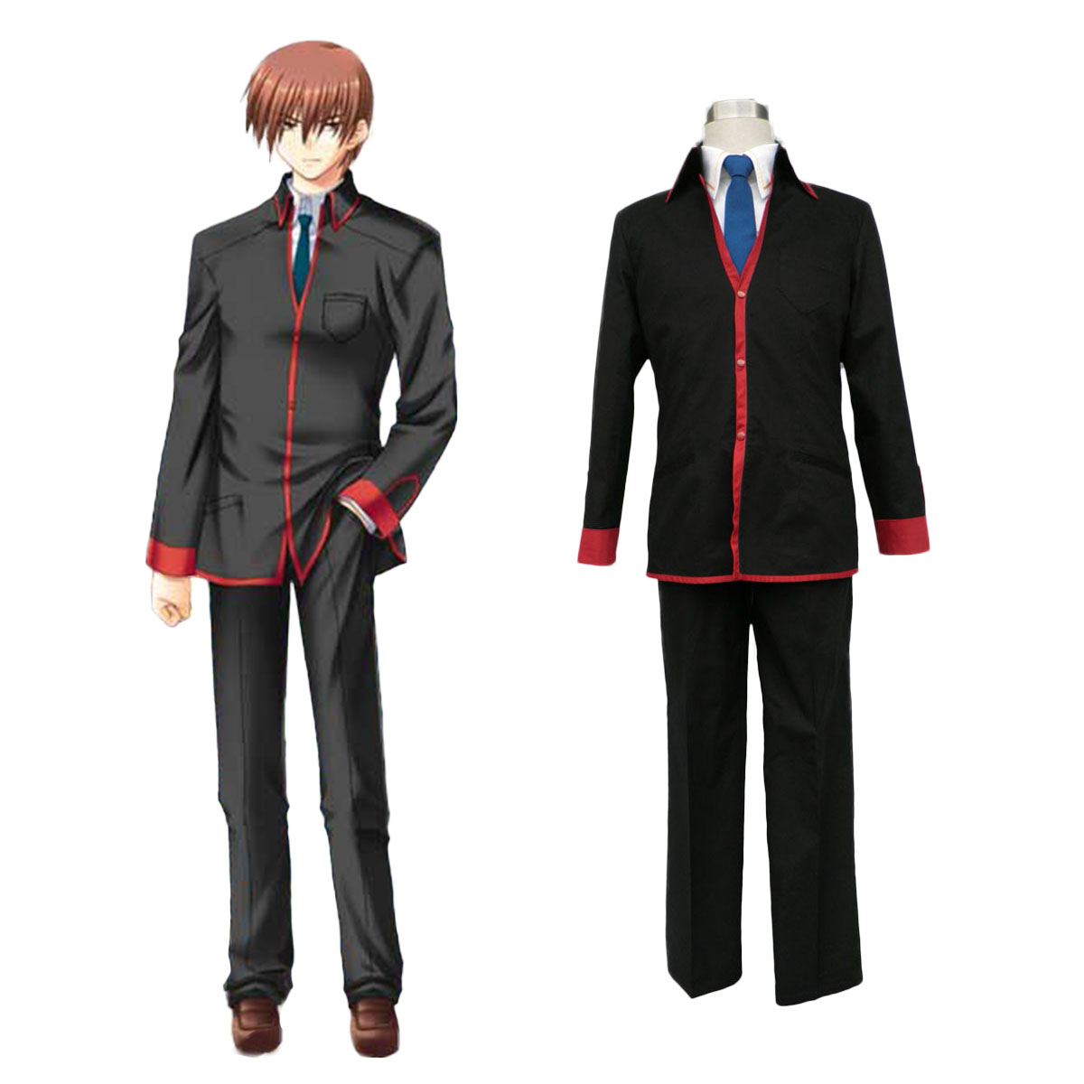 Little Busters Male School Uniform Cosplay Costumes Canada