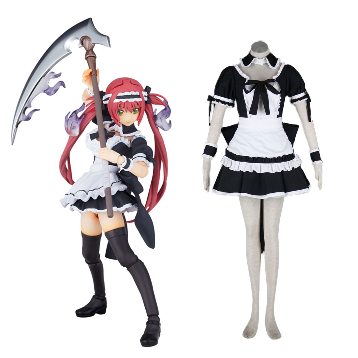 Queen's Blade Airi Maid Cosplay Costumes Canada