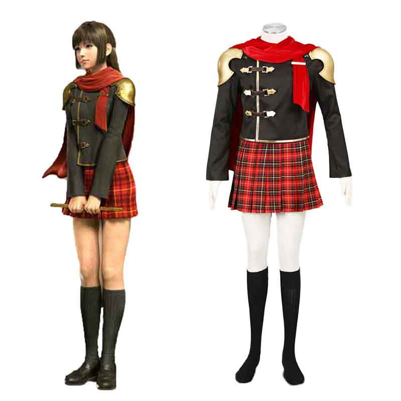 Final Fantasy Type-0 Deuce 1 Cosplay Costumes Canada