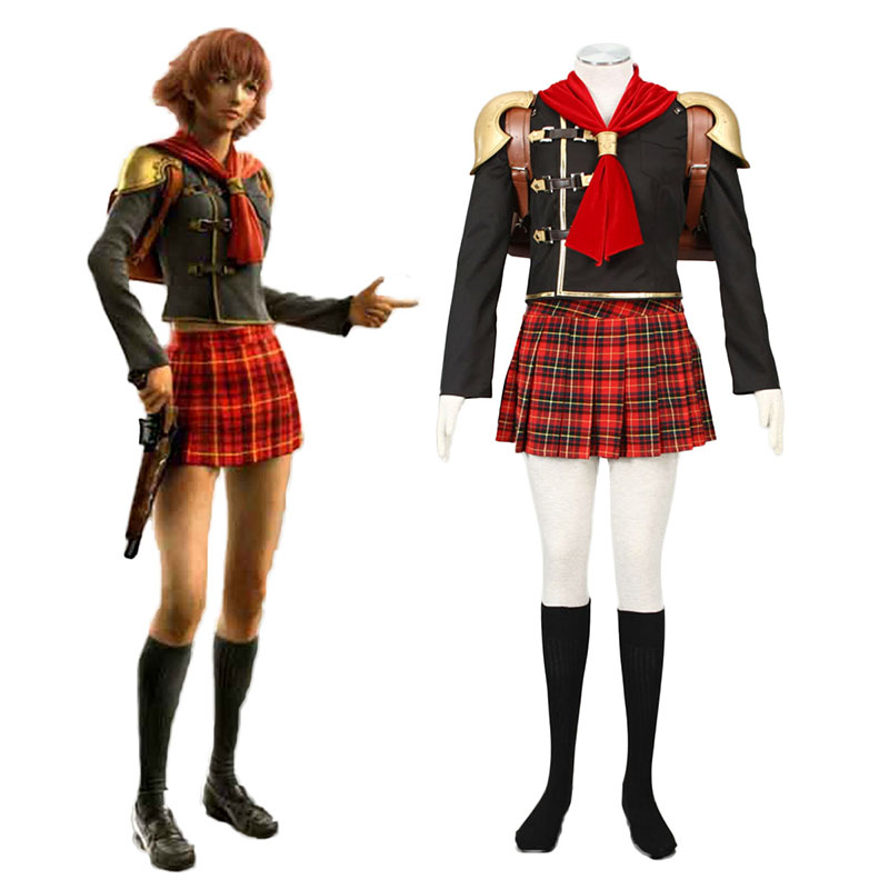 Final Fantasy Type-0 Cater 1 Cosplay Costumes Canada