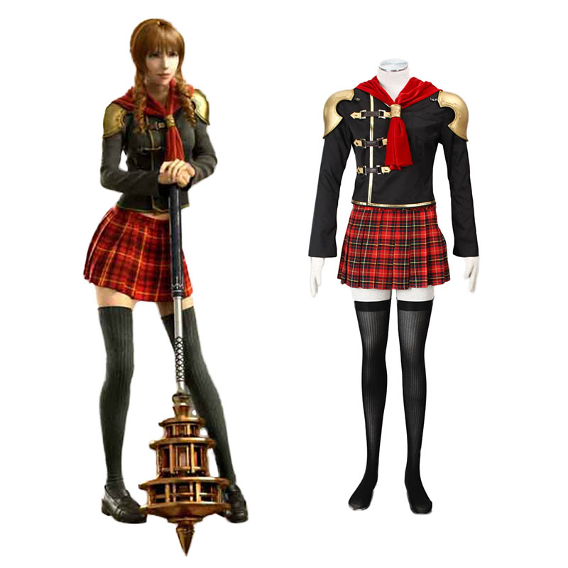 Final Fantasy Type-0 Cinque 1 Cosplay Costumes Canada