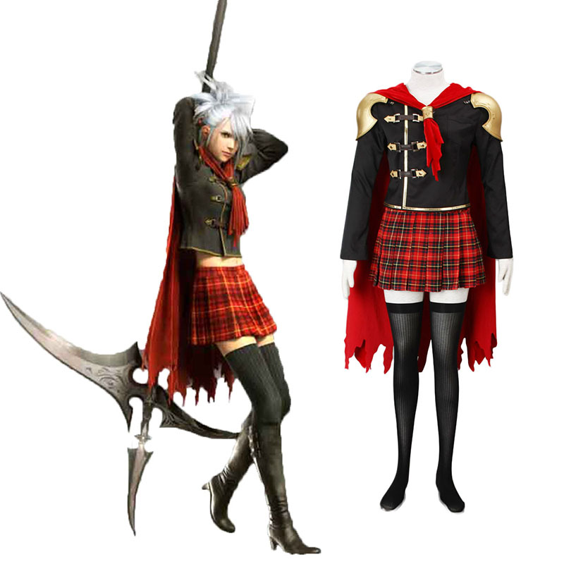 Final Fantasy Type-0 Sice 1 Cosplay Costumes Canada