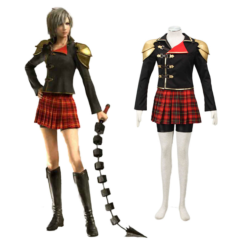 Final Fantasy Type-0 Seven 1 Cosplay Costumes Canada