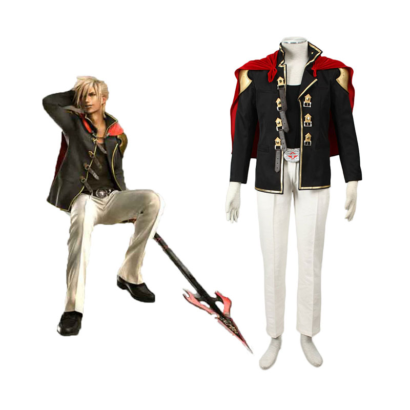 Final Fantasy Type-0 Nine 1 Cosplay Costumes Canada