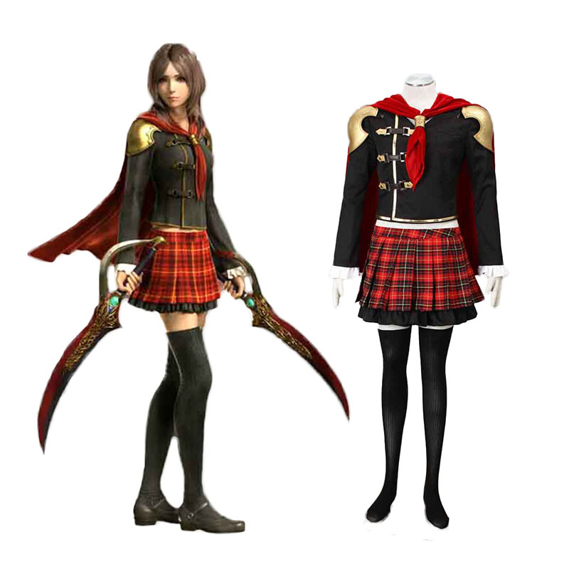 Final Fantasy Type-0 Rem Tokimiya 1 Cosplay Costumes Canada