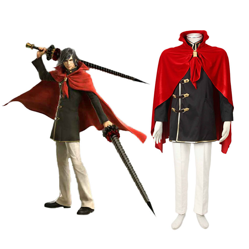 Final Fantasy Type-0 Machina Kunagiri 1 Cosplay Costumes Canada
