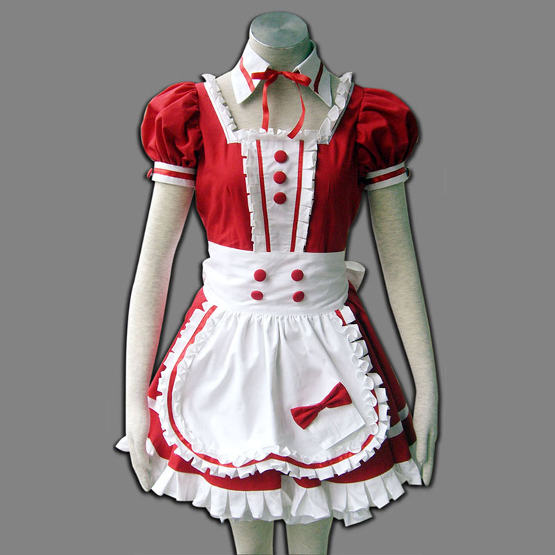 Red Maid Uniform 6 Cosplay Costumes Canada