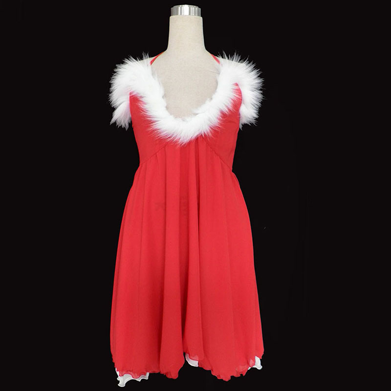 Christmas Lady Dress 3 Cosplay Costumes Canada