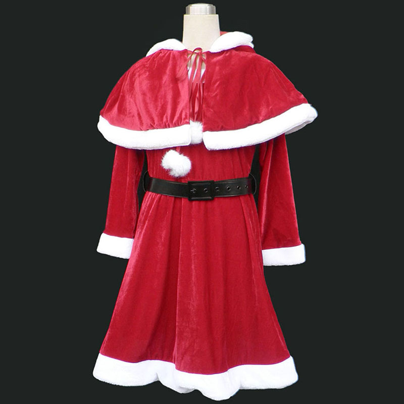 Christmas Lady Dress 9 Red Cosplay Costumes Canada