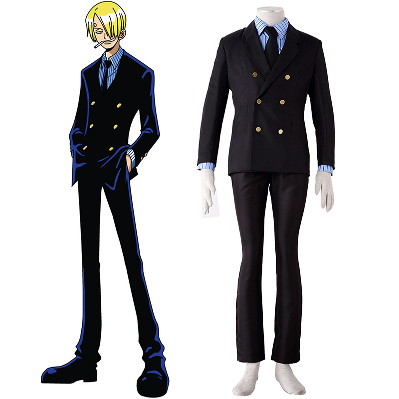 One Piece Sanji 1 Cosplay Costumes Canada