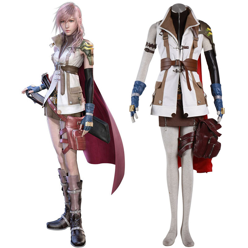 Final Fantasy XIII Lightning 1 Cosplay Costumes Canada
