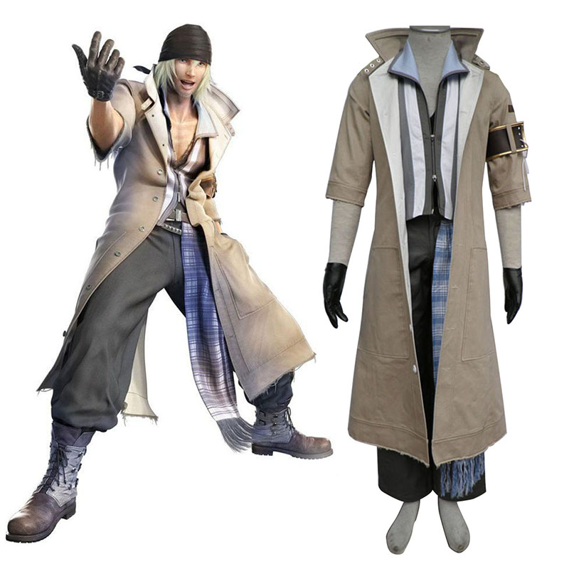 Final Fantasy XIII Snow Villiers 1 Cosplay Costumes Canada