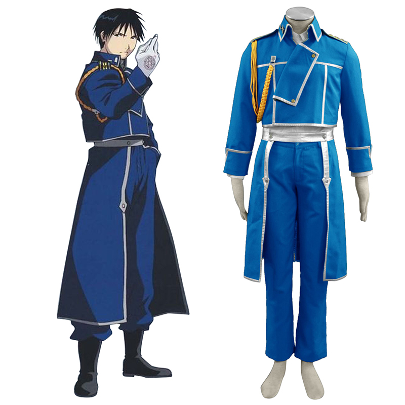 Fullmetal Alchemist Roy Mustang 1 Cosplay Costumes Canada