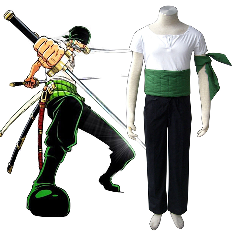 One Piece Roronoa Zoro 1 Cosplay Costumes Canada