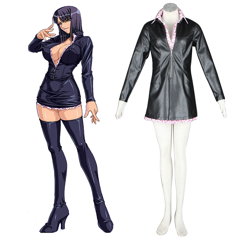 One Piece Nico·Robin 2 Green Cosplay Costumes Canada