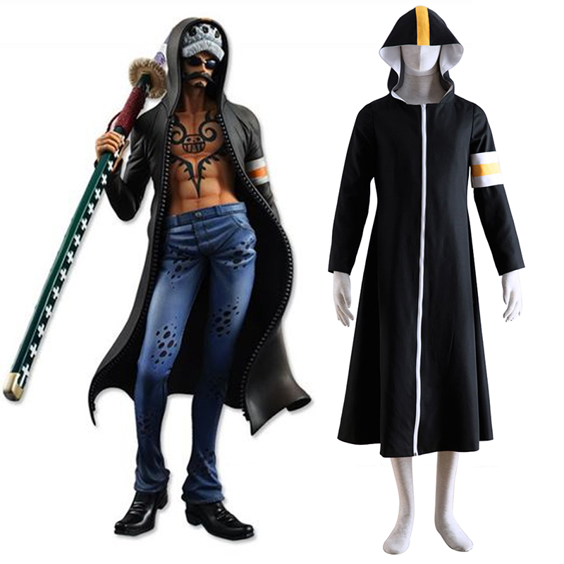 One Piece Surgeon of Death Trafalgar Law 1 Cosplay Costumes Canada