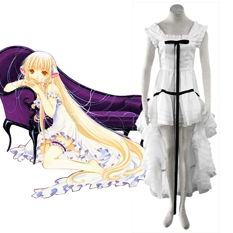 Chobits Eruda 2 White Cosplay Costumes Canada