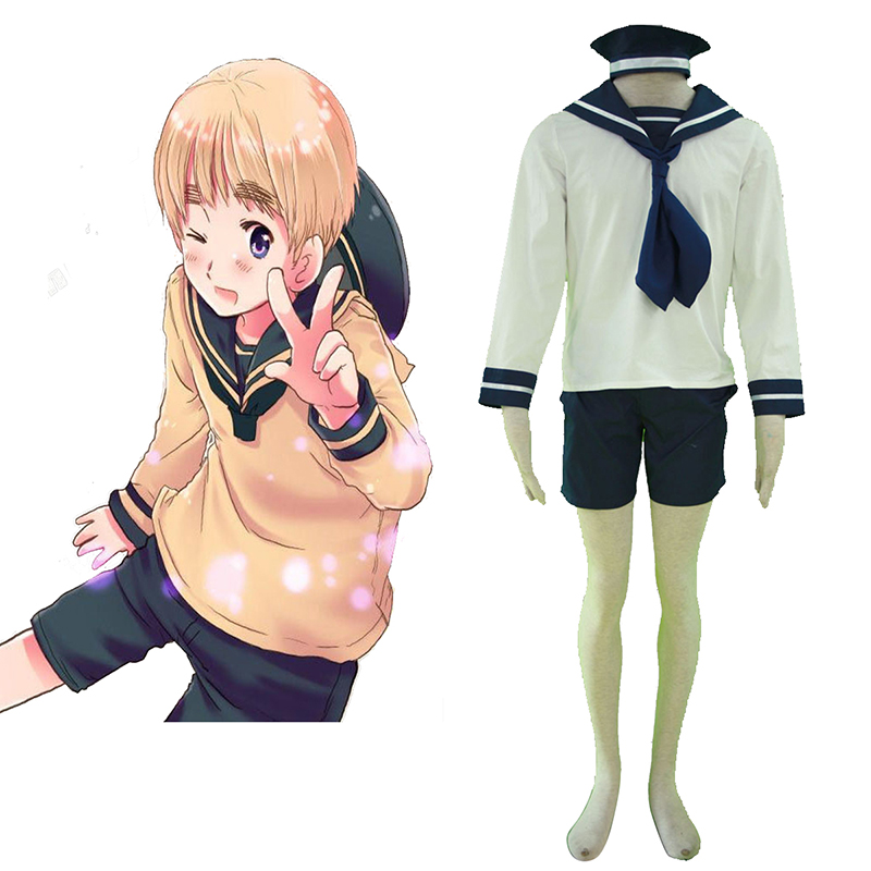 Axis Powers Hetalia North Italy Feliciano Vargas 1 Sailor Cosplay Costumes Canada