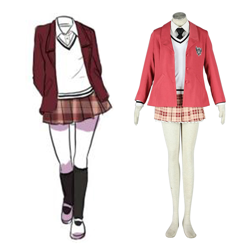 Axis Powers Hetalia Winter Female School Uniform 1 Cosplay Costumes Canada