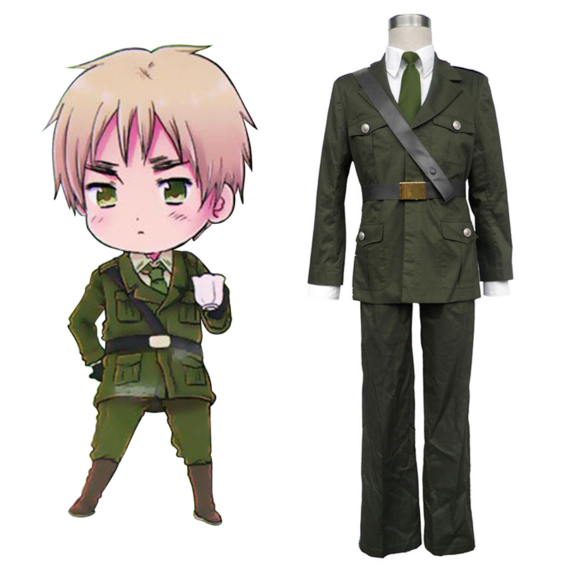 Axis Powers Hetalia Arthur Kirkland Britain 1 Cosplay Costumes Canada
