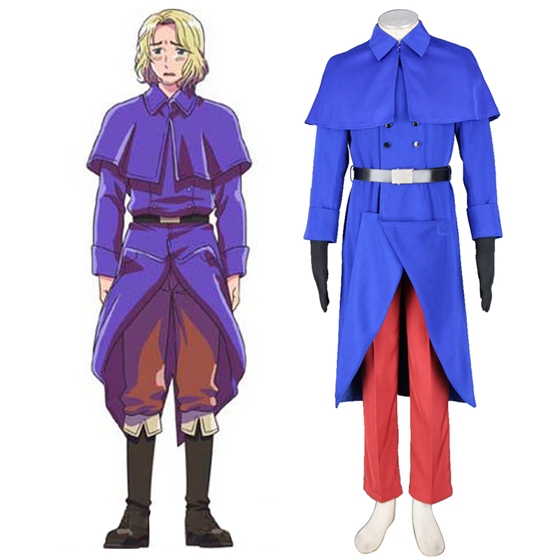Axis Powers Hetalia France Francis Bonnefeuille 1 Cosplay Costumes Canada