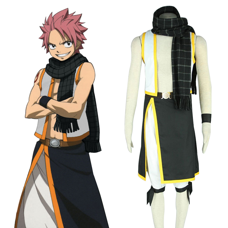 Fairy Tail Natsu Dragneel 2 Cosplay Costumes Canada