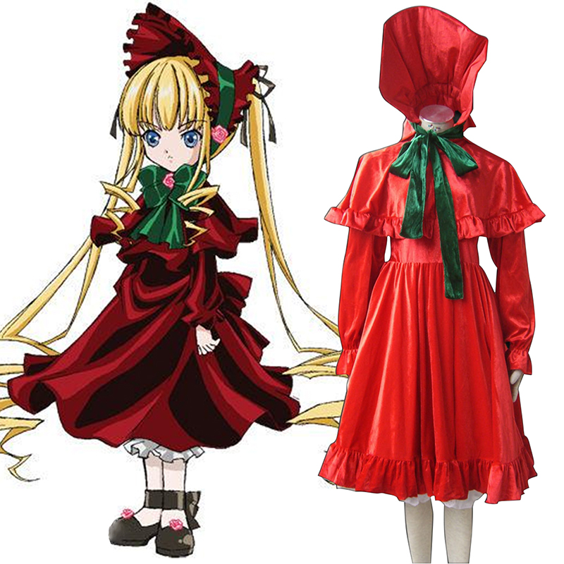 Rozen Maiden Shinku Cosplay Costumes Canada