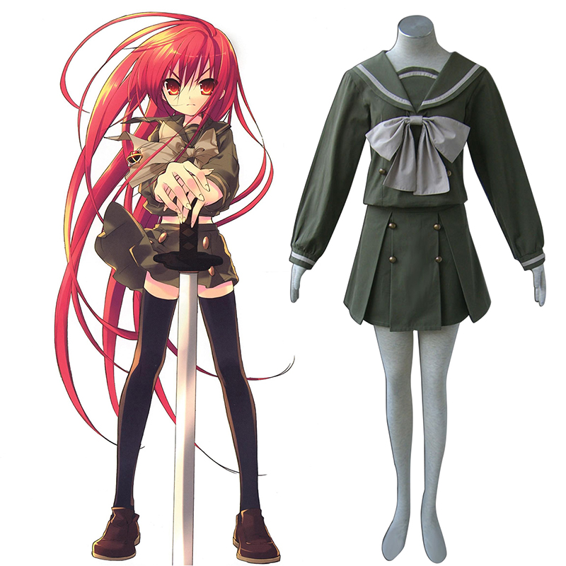 Shakugan no Shana Shana 2 Winter Sailor Cosplay Costumes Canada