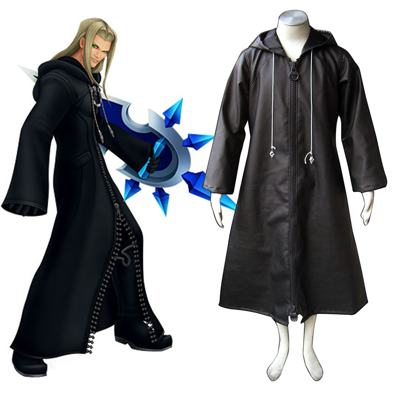 Kingdom Hearts Organization XIII Vexen 1 Cosplay Costumes Canada