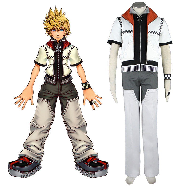 Kingdom Hearts Roxas 1 Cosplay Costumes Canada