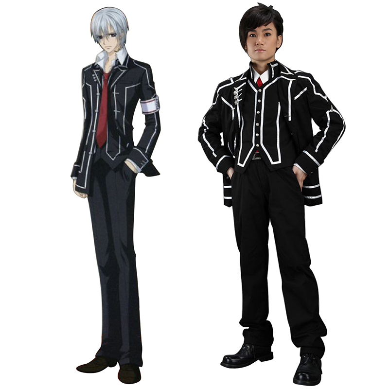 Vampire Knight Day Class Black Male School Uniform Cosplay Costumes Canada