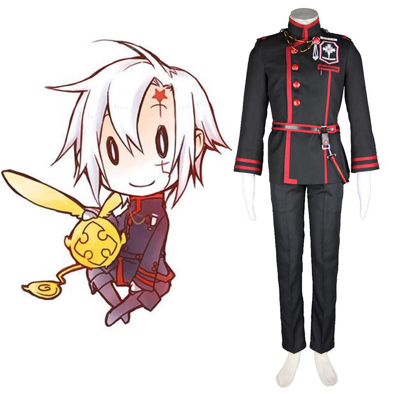 D.Gray-man Allen Walker 3 Cosplay Costumes Canada