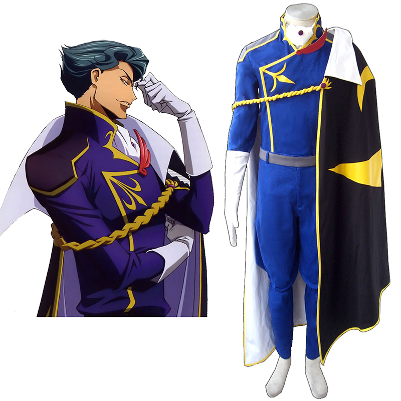 Code Geass Jeremiah Gottwald Cosplay Costumes Canada