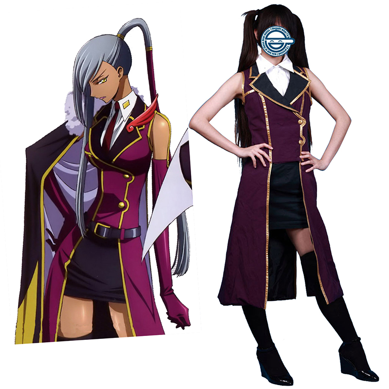 Code Geass Villetta Nu 1 Cosplay Costumes Canada