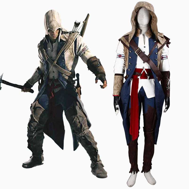 Assassin's Creed III Assassin 7 Cosplay Costumes Canada