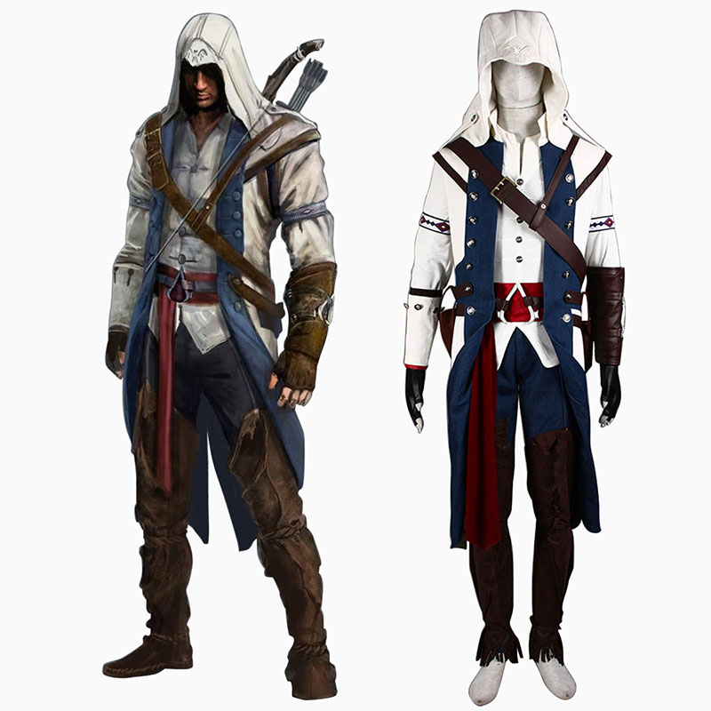 Assassin's Creed III Assassin 8 Cosplay Costumes Canada
